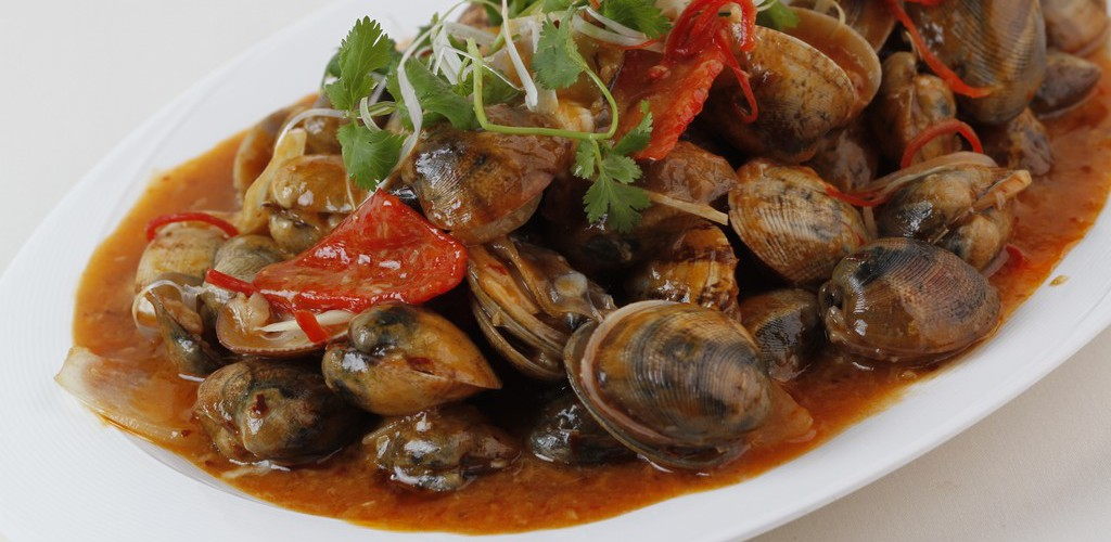 Stir-fried Clams with Sambal Chili<br/>辣檄黄沙蜆