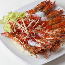 Steamed Prawns with Garlic<br/>蒜茸蒸